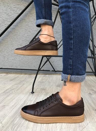 MARTINETTO Hakiki Deri  Sneakers Kahve